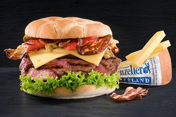 «Sogno dell'alpigiano» – Burger all'Appenzeller®